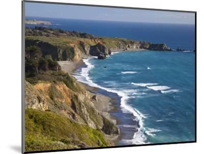 Big Sur Coastline in California, USA-Chuck Haney-Mounted Photographic Print
