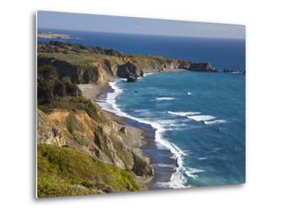 Big Sur Coastline in California, USA-Chuck Haney-Metal Print