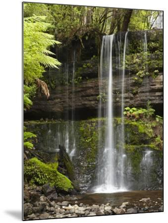 Russell Falls, Mount Field National Park, Tasmania, Australia-David Wall-Mounted Photographic Print
