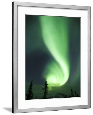 Aurora Borealis, Fairbanks, Alaska, USA-Julie Eggers-Framed Photographic Print