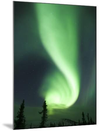 Aurora Borealis, Fairbanks, Alaska, USA-Julie Eggers-Mounted Photographic Print