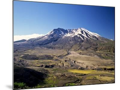 Mount St. Helens National Volcano Monument, Washington, USA-Bernard Friel-Mounted Photographic Print