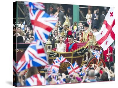 The Royal Wedding of Prince William and Kate Middleton in London, Friday April 29th, 2011--Stretched Canvas Print