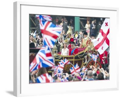 The Royal Wedding of Prince William and Kate Middleton in London, Friday April 29th, 2011--Framed Photographic Print