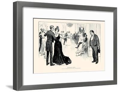 Matrimonial Misfits-Charles Dana Gibson-Framed Art Print