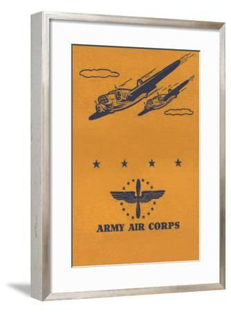 Army Air Corps--Framed Art Print