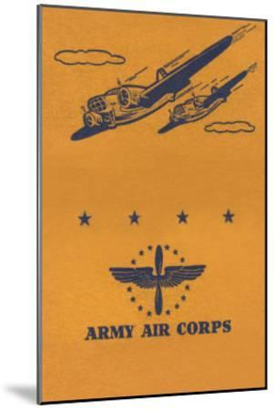 Army Air Corps--Mounted Art Print