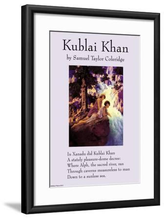 Kublai Khan--Framed Art Print