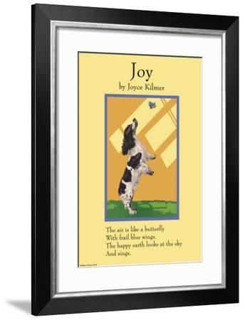 Joy--Framed Art Print