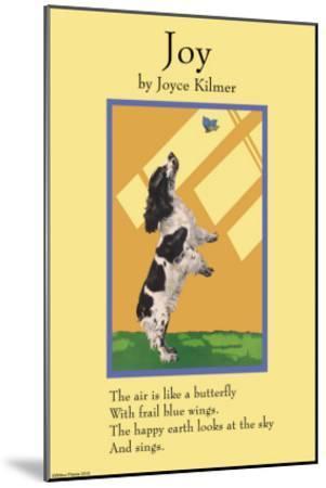 Joy--Mounted Art Print