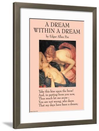 A Dream Within a Dream--Framed Art Print