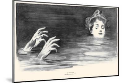In the Swim-Charles Dana Gibson-Mounted Art Print
