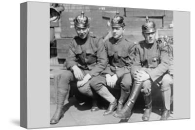 Prussian Helmet Bond Drive--Stretched Canvas Print