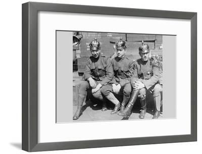 Prussian Helmet Bond Drive--Framed Art Print