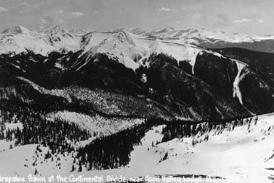 Dillon, Colorado - Arapahoe Basin at Continental Divide-Lantern Press-Stretched Canvas Print
