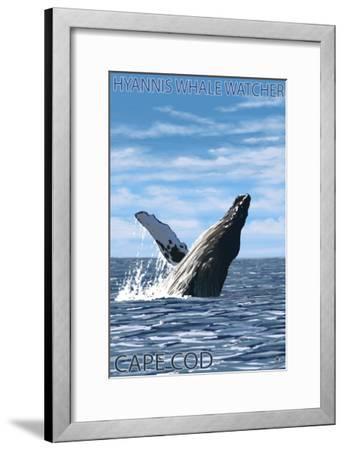 Hyannis Whale Watcher Cape Cod Ma Art Print By Lantern