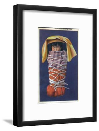 Navajo Baby named Be-Nah Na-Zuhn (Pretty Eyes) Art Print by Lantern Press |  Art com