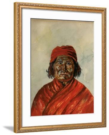Geronimo-W.J. Ryan-Framed Giclee Print