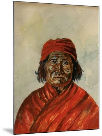 Geronimo-W.J. Ryan-Mounted Giclee Print