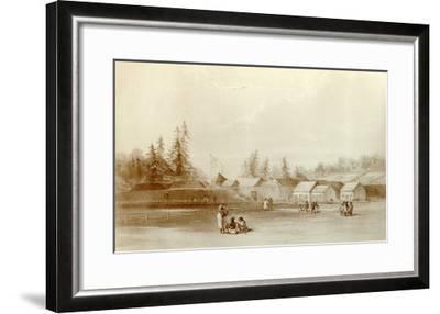 Fort Vancouver, 1845-Henry Warre-Framed Giclee Print