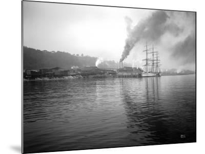 Tacoma Waterfront, 1915-Asahel Curtis-Mounted Giclee Print