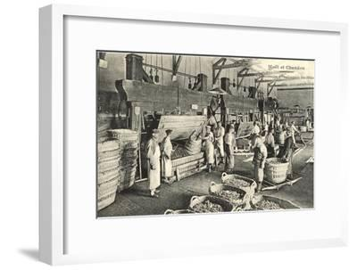 Pressing the Grapes, Moet et Chandon--Framed Art Print