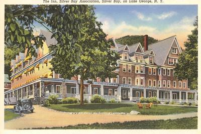 The Inn at Silver Bay, Lake George, New York--Stretched Canvas Print