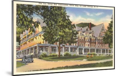 The Inn at Silver Bay, Lake George, New York--Mounted Art Print