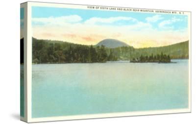 Sixth Lake, Adirondacks, New York--Stretched Canvas Print