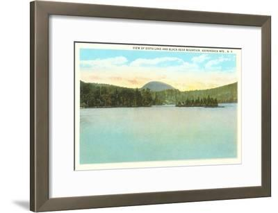 Sixth Lake, Adirondacks, New York--Framed Art Print