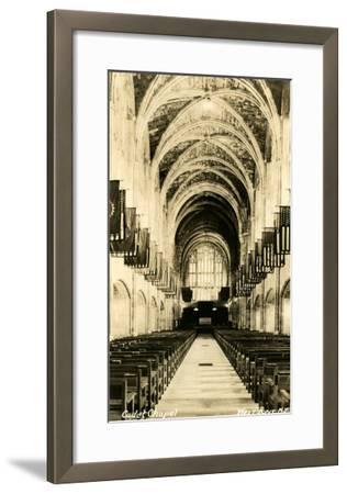 Cadet Chapel, West Point, New York--Framed Art Print