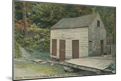 Rep Van Winkle House, Sleepy Hollow, Catskills, New York--Mounted Art Print