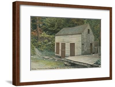 Rep Van Winkle House, Sleepy Hollow, Catskills, New York--Framed Art Print