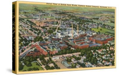 Aerial View of Kodak Park, Rochester, New York--Stretched Canvas Print