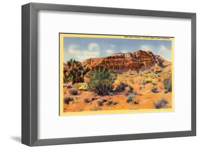 Red Rock Canyon, Nevada--Framed Art Print