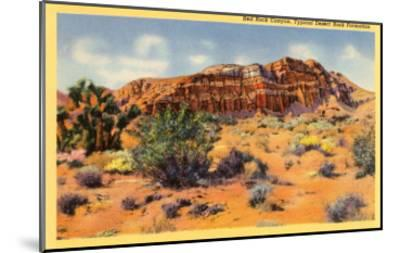 Red Rock Canyon, Nevada--Mounted Art Print
