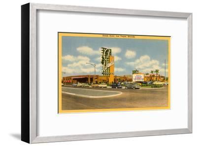 Sands Hotel, Las Vegas, Nevada--Framed Art Print