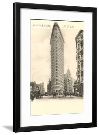 Flatiron Building, New York City--Framed Art Print