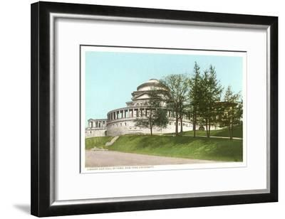 Library, New York University, New York City--Framed Art Print