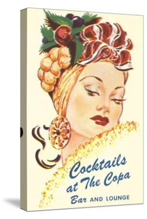 Cocktails at the Copa, Latin Bombshell, Graphics--Stretched Canvas Print