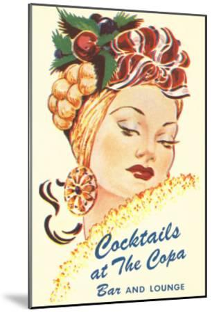 Cocktails at the Copa, Latin Bombshell, Graphics--Mounted Art Print