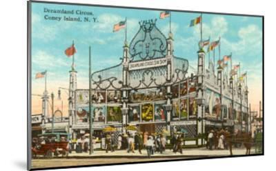 Dreamland Circus, Coney Island, New York City--Mounted Art Print