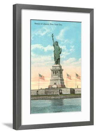 Statue of Liberty, New York City--Framed Art Print