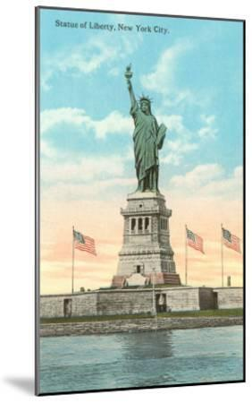 Statue of Liberty, New York City--Mounted Art Print