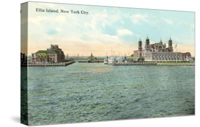 Ellis Island, New York City--Stretched Canvas Print