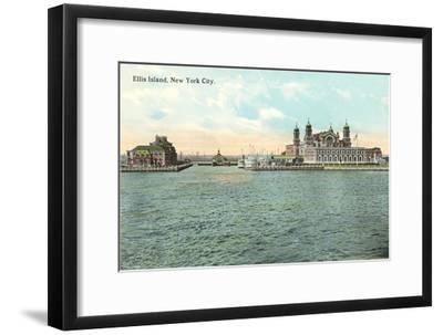Ellis Island, New York City--Framed Art Print