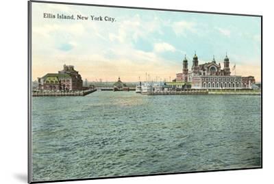 Ellis Island, New York City--Mounted Art Print