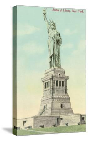 Statue of Liberty, New York--Stretched Canvas Print