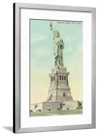 Statue of Liberty, New York--Framed Art Print