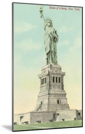 Statue of Liberty, New York--Mounted Art Print